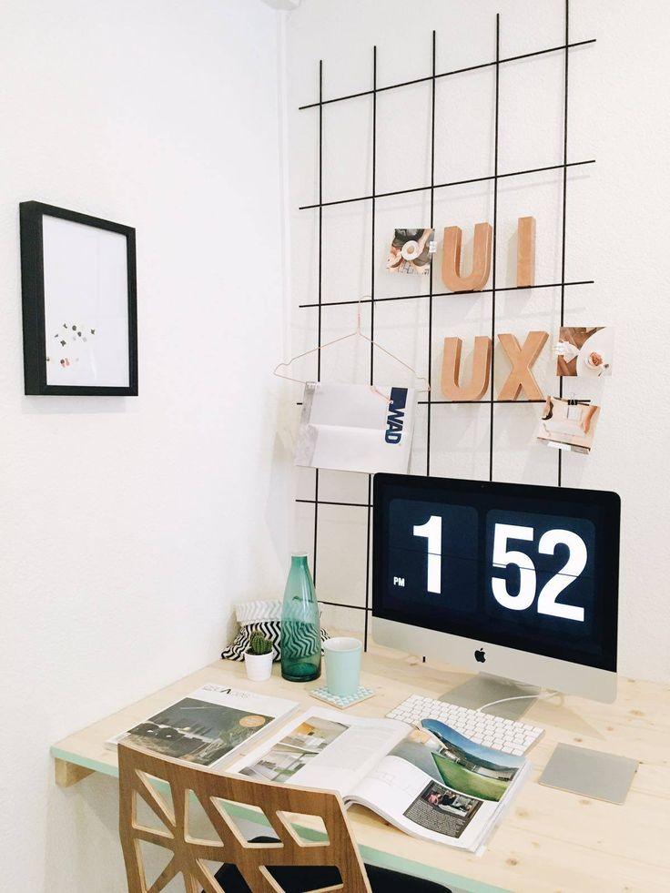aperçu d'une partie de notre bureau à Lausanne | workplace | minimal | ui design | ux design