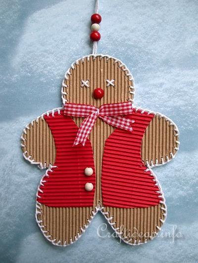 Christmas Craft Corrugated Cardboard