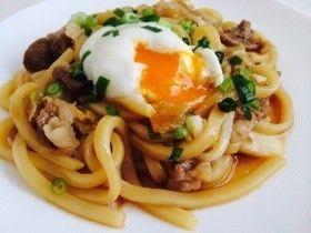 レンジで簡単*すき焼き風うどん by xxchiepixx [クックパッド] 簡単おいしいみんなのレシピが247万品
