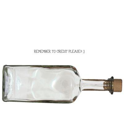 Clear Rum bottle PNG by KarahRobinson-Art