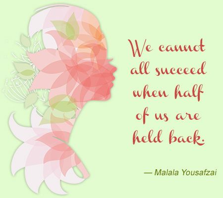 Malalas Quote About Empowering Women