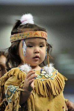 Beautiful Native American baby