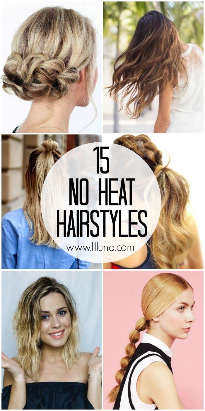 4 Easy Heatless Hairstyles For Long Hair Heatless Hairstyles Braids For Long Hair Long Hair Styles