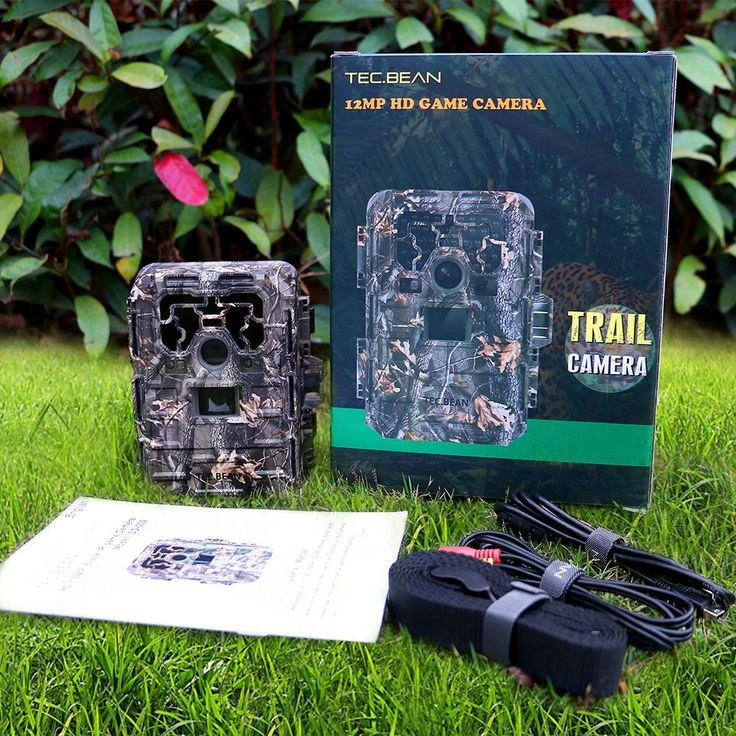 TEC.BEAN 12MP 1080P HD Game & Trail Hunting Camera $85.99 (Reg. $199.99)