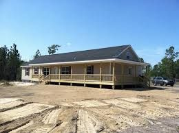 1000 ideas about mobile home porch on pinterest double for Mobile home with wrap around porch