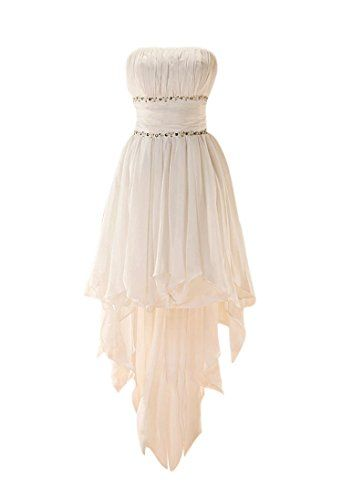 GEORGE DESIGN Popular High Low Beaded Chiffon Beach/Casual Wedding Dress Size 8 White GEORGE BRIDE http://www.amazon.com/dp/B00C61O02K/ref=cm_sw_r_pi_dp_MKr5ub0DFTXJM