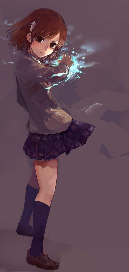 Mikasa - A Certain Scientific Railgun. [tumblr_mgy6n5cEhr1r24v6po1_1280.jpg (518×1089)].