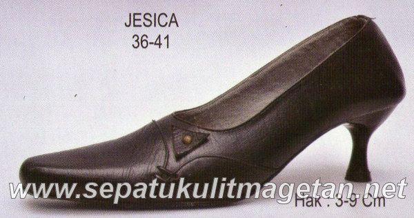 Sepatu Kulit Asli Wanita CJ Jesica