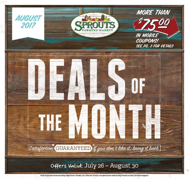 Sprouts Monthly ad July 26 - August 30, 2017 - http://www.olcatalog.com/grocery/sprouts/sprouts-monthly-ad.html