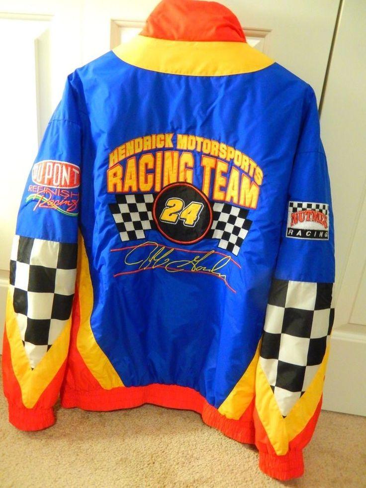Nutmeg Racing Team Jacket Jeff Gordan # 24 Dupont Hendrick Motorsports Size XL #Nutmeg #HendrickMotorsportsRacing