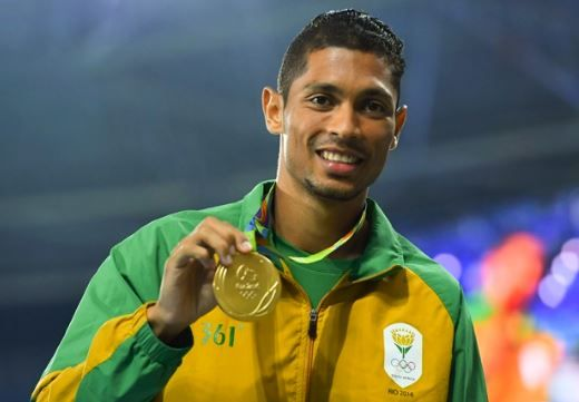 Wayde Van Niekerk - 2016 Olympic World Record Holder #LiveLife #Better&Better #Checkers #GoldMedal #NewWorldRecord #RioOlympics