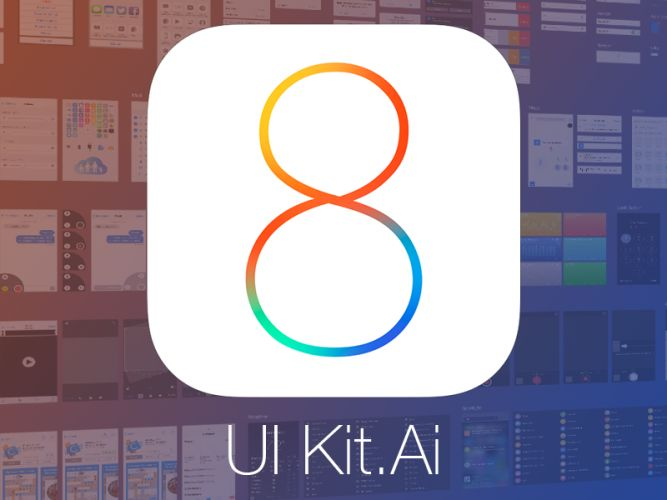 http://downloadpsd.co/ios-vector-ui-kit-ai/ Download iOS 8 Vector UI Kit. The UI kit offers you an efficient way to deliver an awesome iOS 8 look and feel. The download comes as a layered scalable vector. Enjoy!