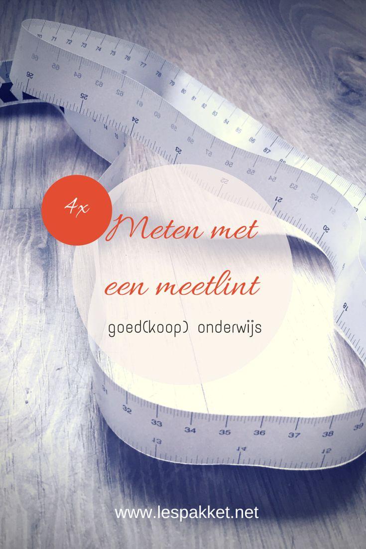 Goed(koop) onderwijs: 4x meten met een meetlint