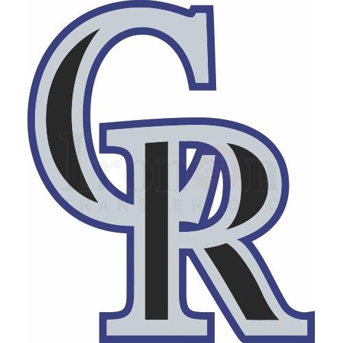 10 Best Images About Sports Iron Ons-MLB Colorado Rockies