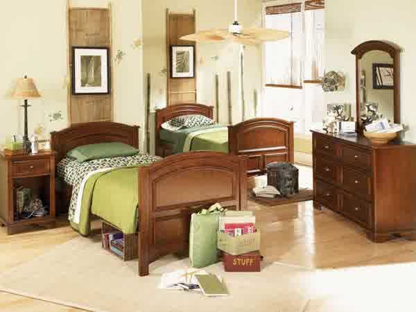 set tempat tidur anak jati, set kamar anak jati, kamar set anak jati