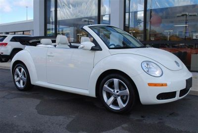 VW Beetle Convertible.