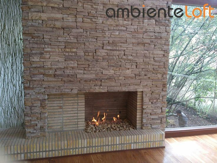 Suministro de Chimeneas y Calefactores a Gas. Calor de hogar. www.ambienteloft.co Diseño-Construcción-Mantenimiento.