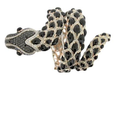 ZORAB- Diamond Scales Serpent Bracelet