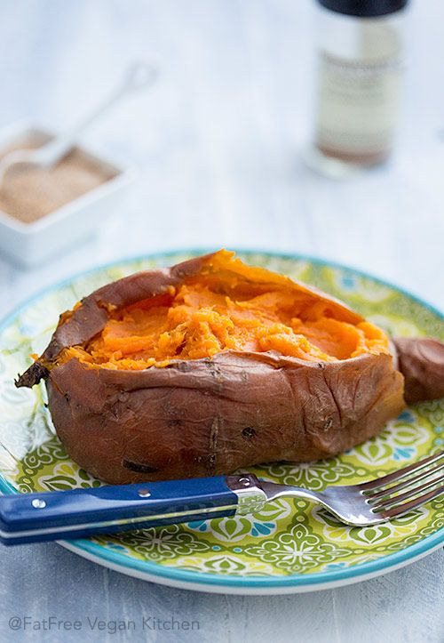 Perfect Baked Sweet Potatoes in pressure cooker and oven