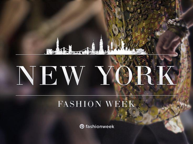 Peek inside New York Fashion Week! , via the Official Pinterest Blog
