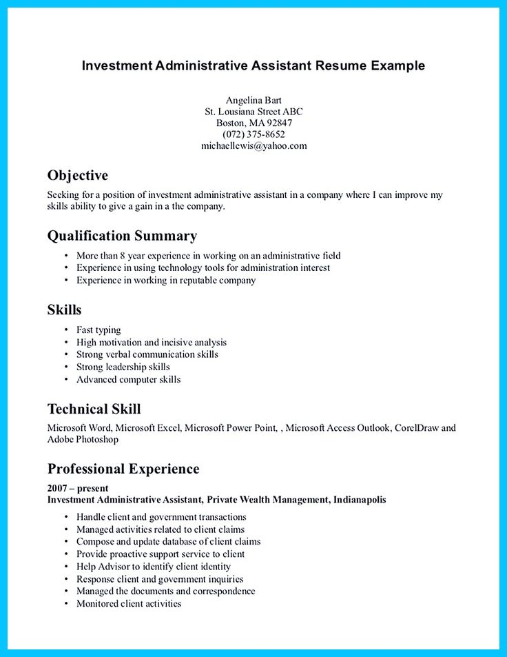 objective for office assistant resume