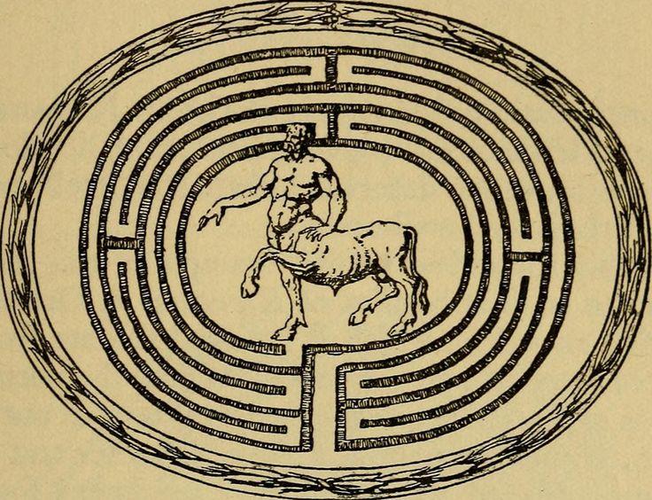 рисунки лабиринта из древней греции имени, характер