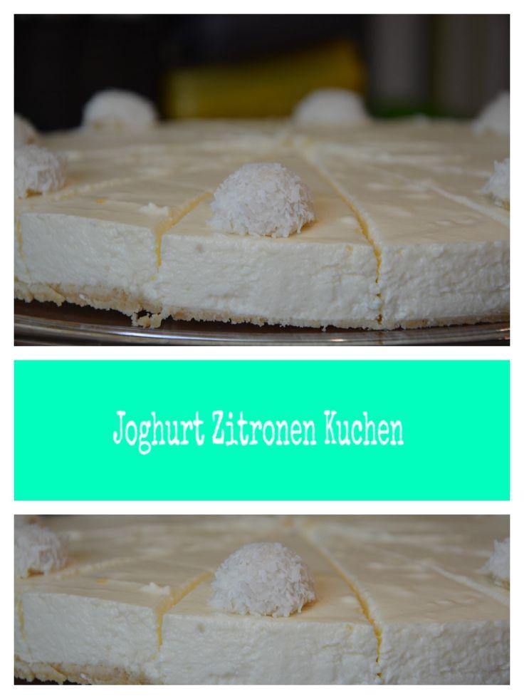 Joghurt Zitronen Kuchen, backen, Thermomix, Rezepte, Food, Cake