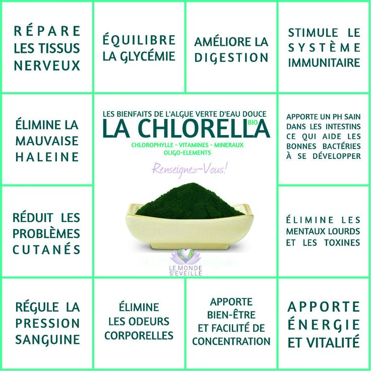 Les Bienfaits de la Chlorella   LA CHLORELLA Le Monde s'Eveille Grâce à Nous Tous ♥