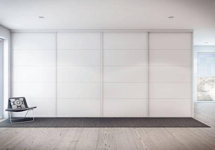 Vit garderob - Trimline rand vit | Ballingslöv