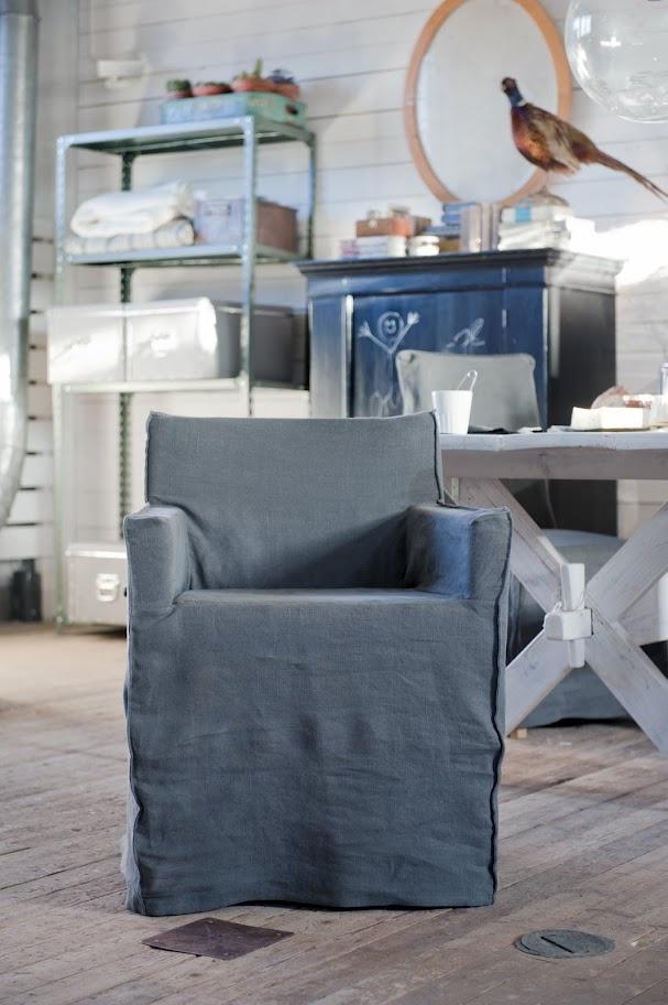 nils chair cover w armrests loose fit urban models. Black Bedroom Furniture Sets. Home Design Ideas