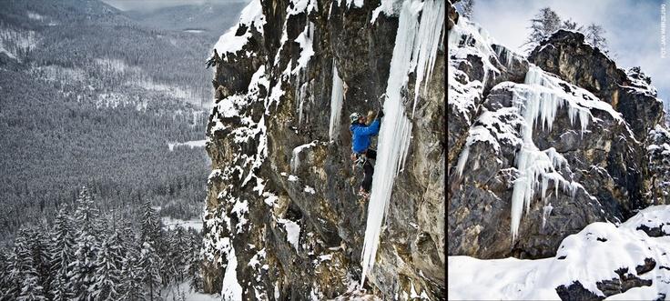 Ice Climbing in Poland