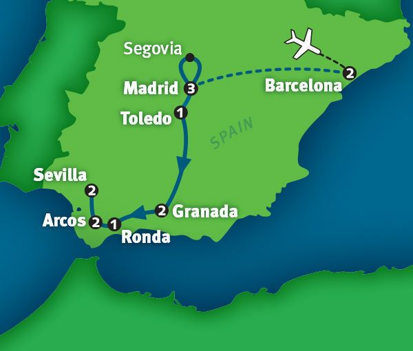 Spain Tour The Best Of In 14 Days Rick Steves 2016 Tours