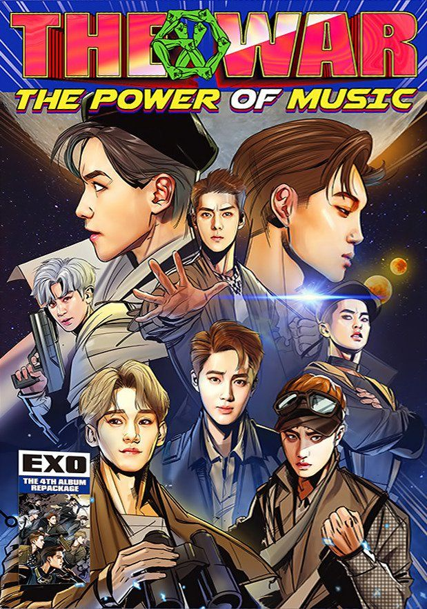 #EXO's fourth album repackage 'THE WAR: The Power of Music' Details