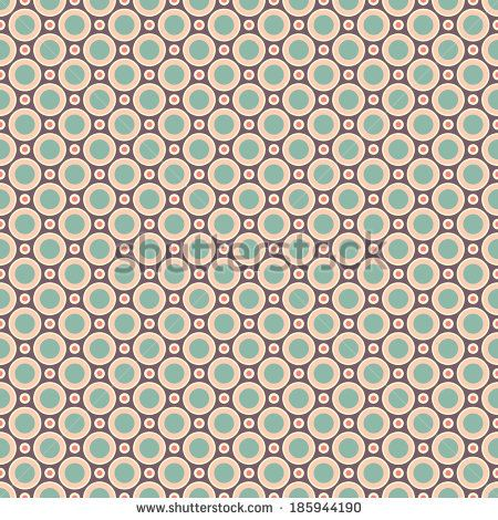 Charming vector seamless pattern (tiling). Sweet pink, blue and lemon cream colors. Endless texture can be used for printing onto fabric and paper. Flower and dot shape. - stock vector