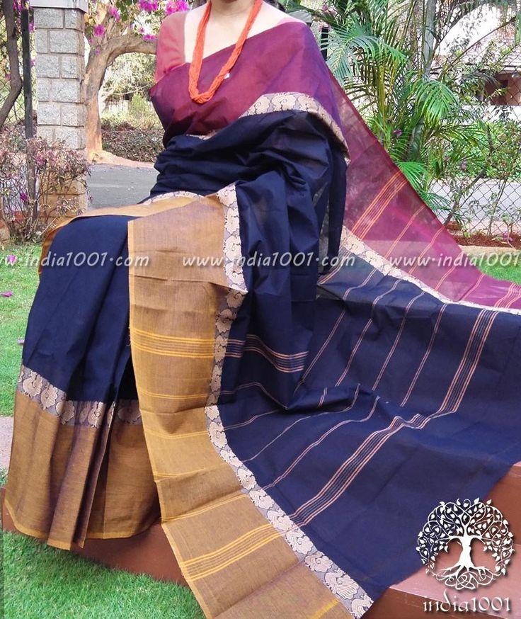 Elegant Chettinad Cotton Saree (without bp)