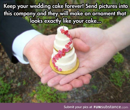 Another way to immortalize that special day