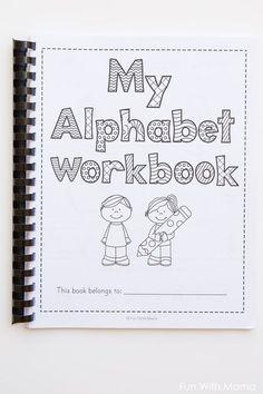 alphabet letter worksheets para dar clases pinterest preschool letter worksheets y alphabet. Black Bedroom Furniture Sets. Home Design Ideas