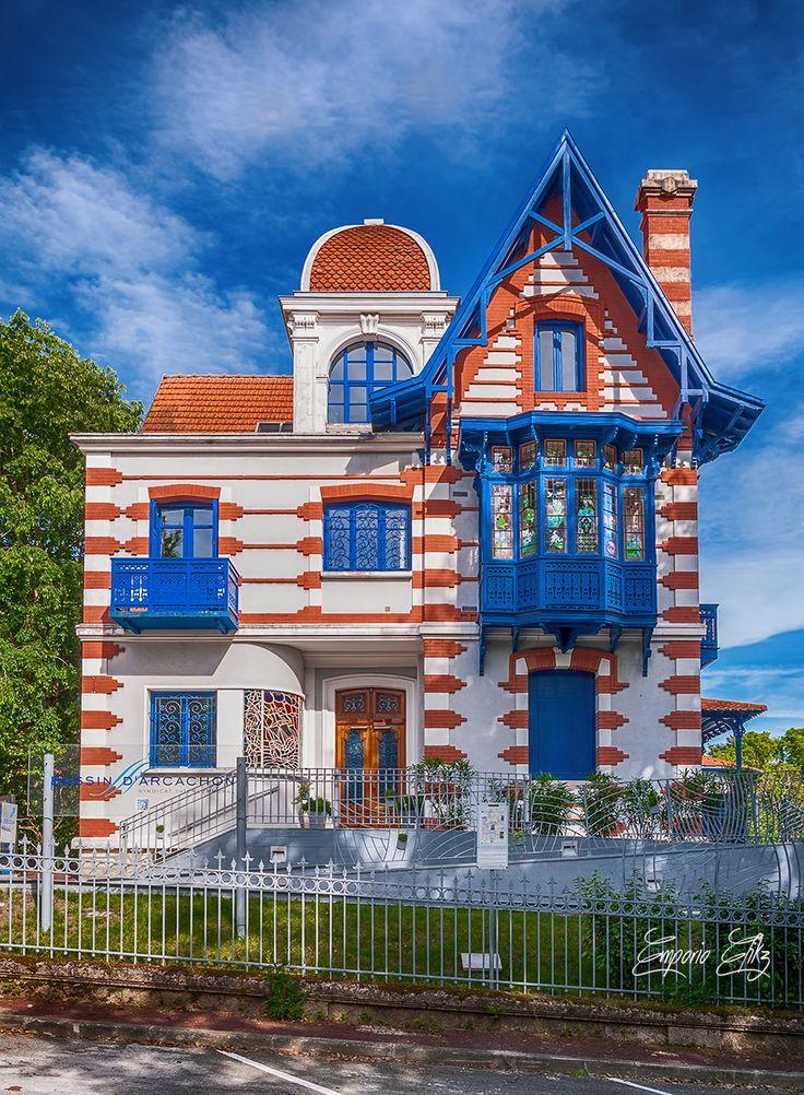 Deci-Delà - emporioefikz: Villa Vincenette, Arcachon, France 1895 Architecte Eugène Ormieres