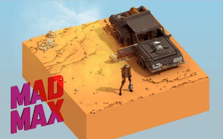 MagicaVoxel, epic games, ue4, unreal engine 4, pixel, voxels, gamedev, maya, animation, game jam, game development, game industry