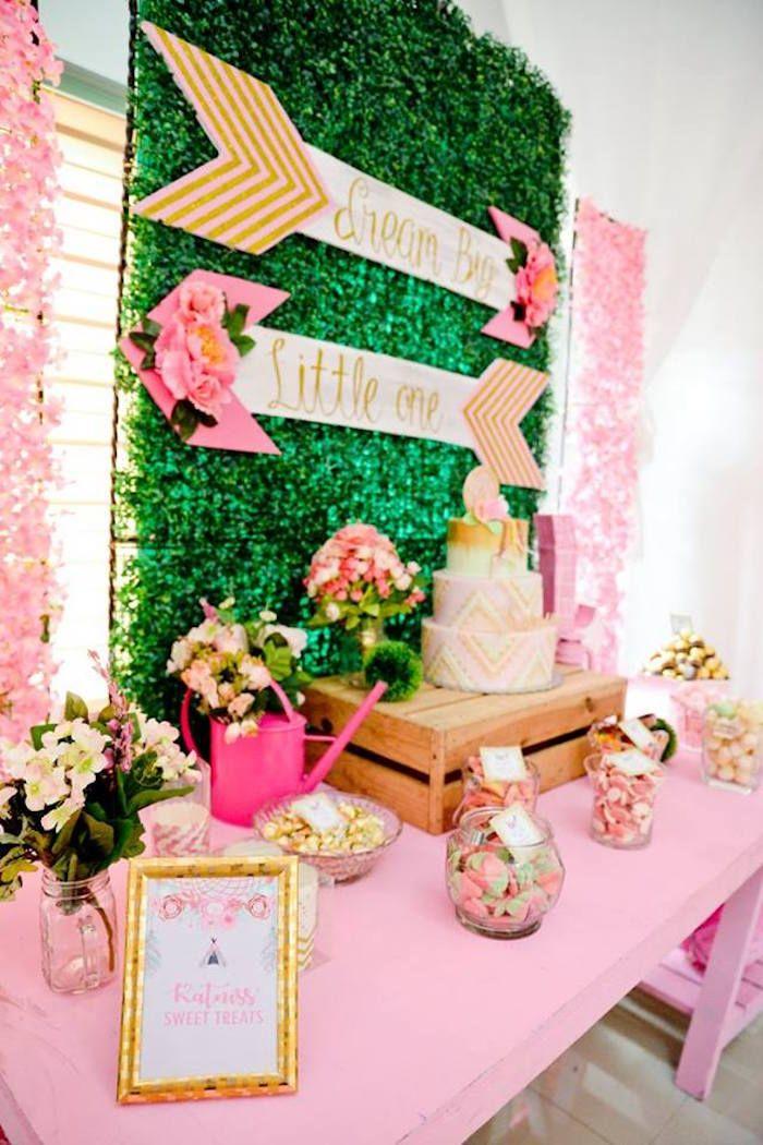 Pink Coachella Birthday Party Via Karas Party Ideas Karaspartyideas Com10 Jpg 700 1 050 Pixels Boho Birthday Party Diy Birthday Decorations Coachella Birthday