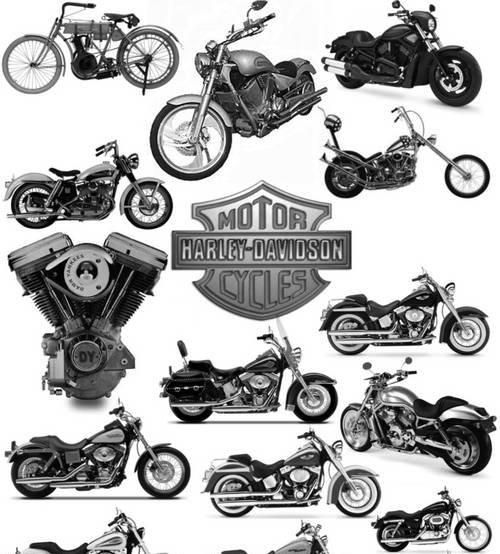 motor harley-davidson cycles. posted in: photoshop brushes