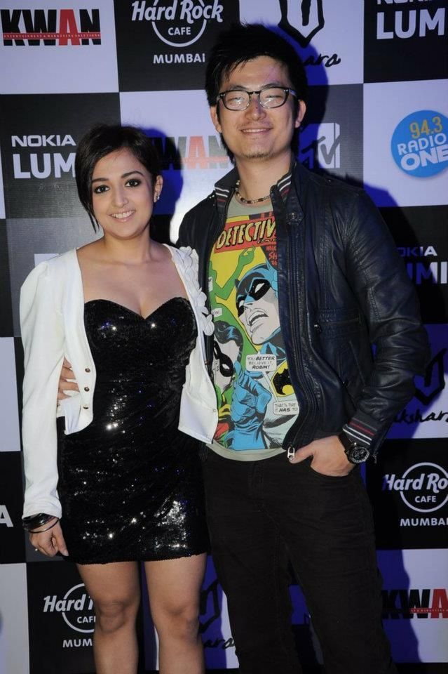 Meiyang Chang with Monali at HRC Mumbai - Women's Day charity