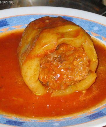 Stuffed Peppers OR Punjene paprike | Maninas: Food Matters