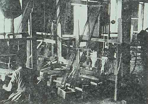 Mr Martin's manufacture of weaving Aintab