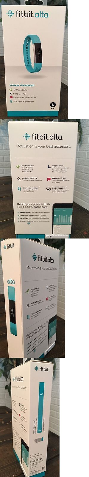 Activity Trackers 179798: New Fitbit Alta Fitness Wristband Large Teal Band Fitness Tracker -> BUY IT NOW ONLY: $83.95 on eBay!