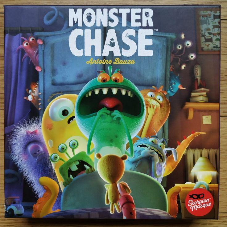 Monster Chase Juego De Mesa Tipo Memory Pero Con Mayor Diversión Juegos De Mesa Juegos Cooperativos Juegos