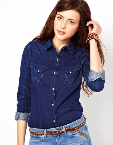 2579a7f332d Tendance la chemise en jean