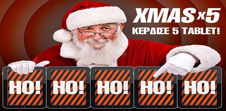 Δωρεάν 5 tablets από την Vistabet.gr!