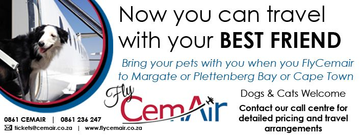 Cemair's Travel with pets offer