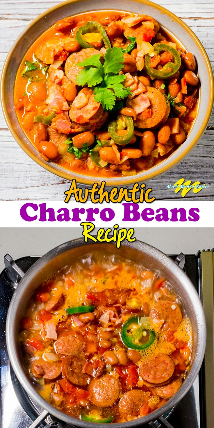 This Charro Beans Recipe, in other words, Frijoles Charros Recipe or Frijoles a la Charra, is simple and delicious.